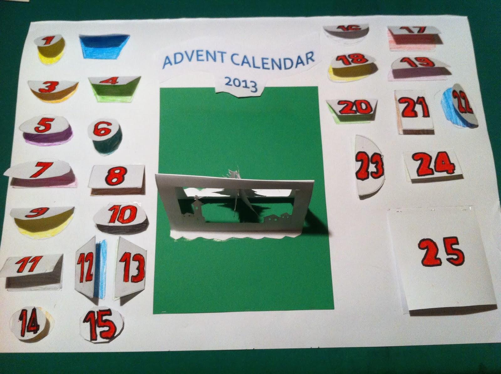 TrinityPat: Advent Calendar 2013