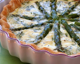 Asparagus Custard Tart