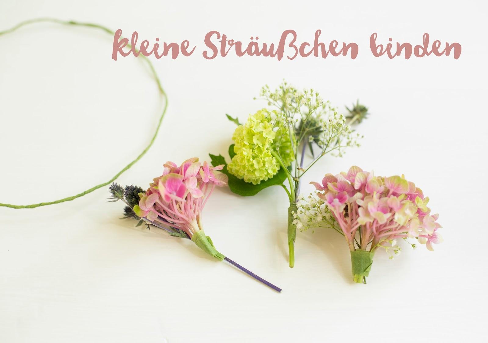 Blumenkranz Flower Crown DIY Anleitung