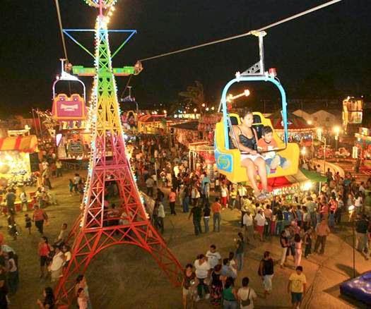 Programa Feria de la Fresa Jacona 2014