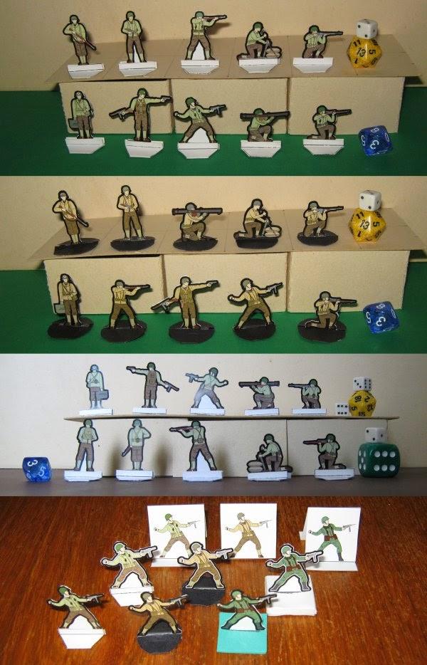 lvmenes miniatures rangers us soldiers