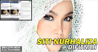 'Ya Allah, berilah hukuman sebaik-baiknya buat pemfitnah ini!' – Datuk Siti Nurhaliza