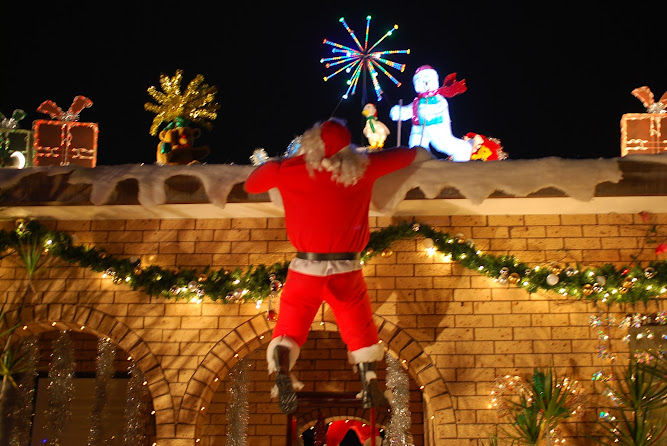 Sydney Christmas Lights Display 2012 Five Dock