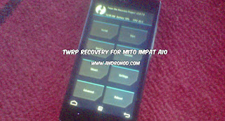 Cara install Cwm/Twrp Recovery Mito Impact A10