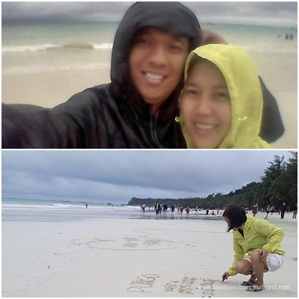 beach, storm