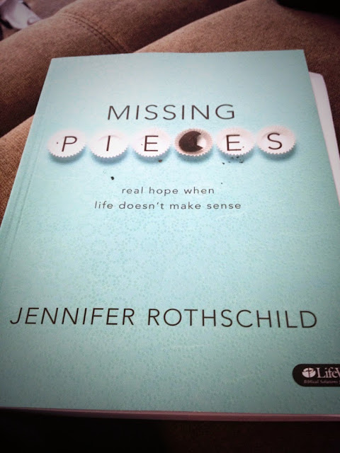 Missing Pieces Bible Study Book