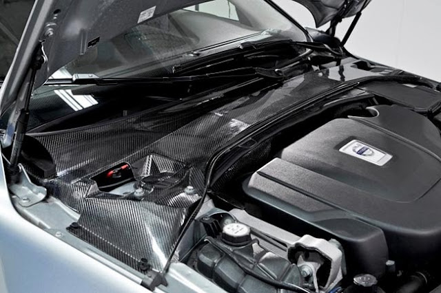 Volvo introduced new system by carbon fiber body panels contain tiny nano batteries