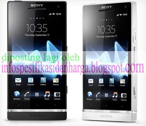 Harga Sony Xperia S Lt26i Terbaru 2012 Info Harga Dan Spesifikasi