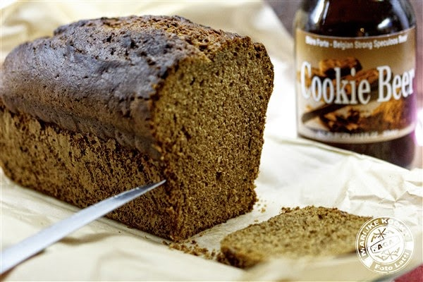 Gingerbread cake met Cookie Beer