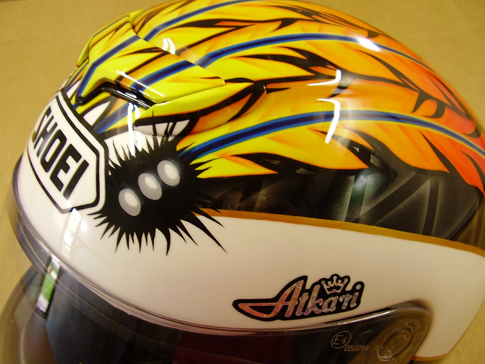 SHOEI Race Helmet