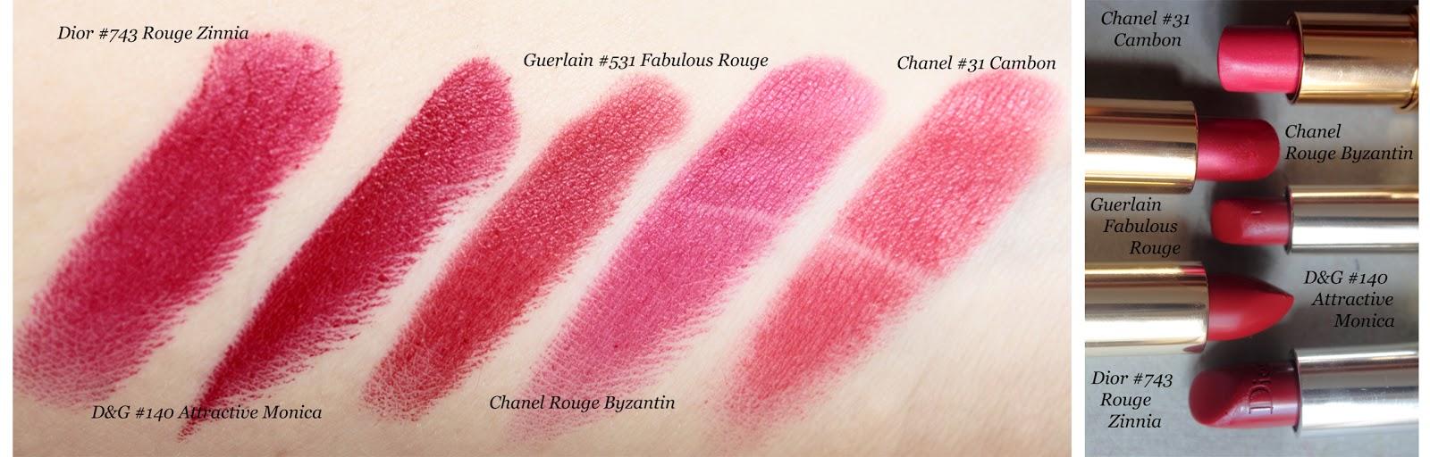 Gabbana dolce classic cream lipsticks spring best photo