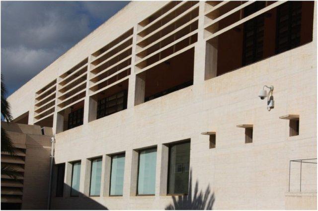 Edificio Moneo en la Fundacion Pilar y Joan Miro en Mallorca