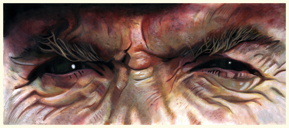 Clint Eastwood Eyes Illustration