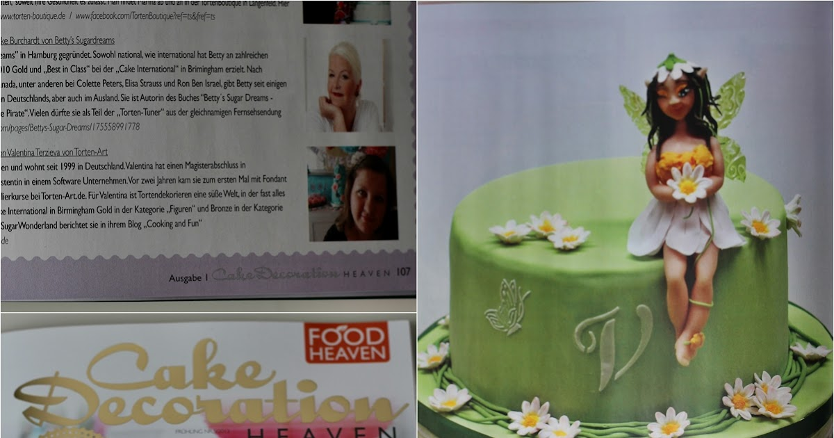 Cake Art Decor Zeitschrift : Cooking & Fun by Valentina: Meine Torte fur