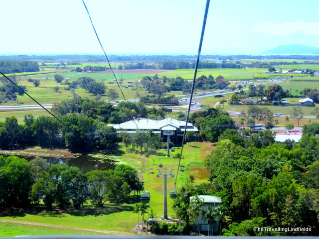 As you leave the terminal look back for magnificent views of the coastal plain and out to the vast expanse of the Pacific Ocean. & The Travelling Lindfields: Skyrail Rainforest Cableway: Cairns to ...