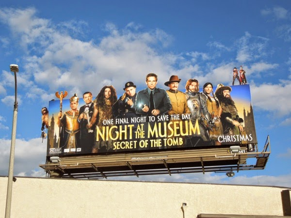 Night at the Museum Secret of the Tomb billboard