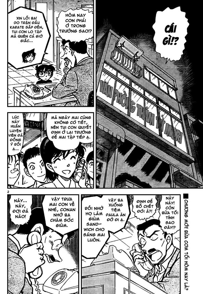 Thám Tử Lừng Danh Conan - Chapter 765 - Pic 2