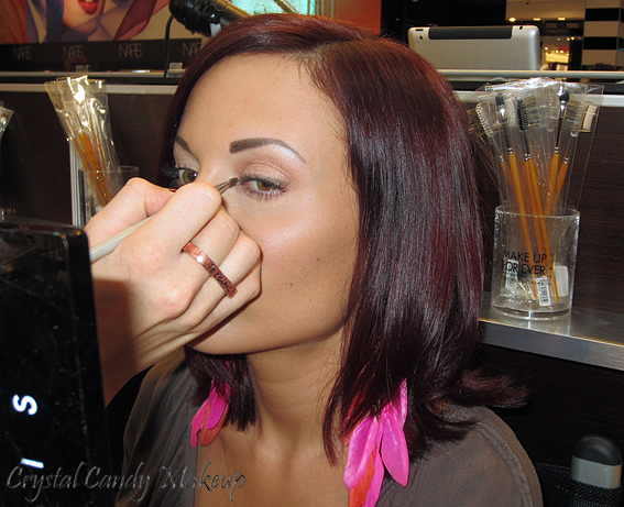 Leçon de maquillage 'Contour classique' à la boutique Make Up For Ever