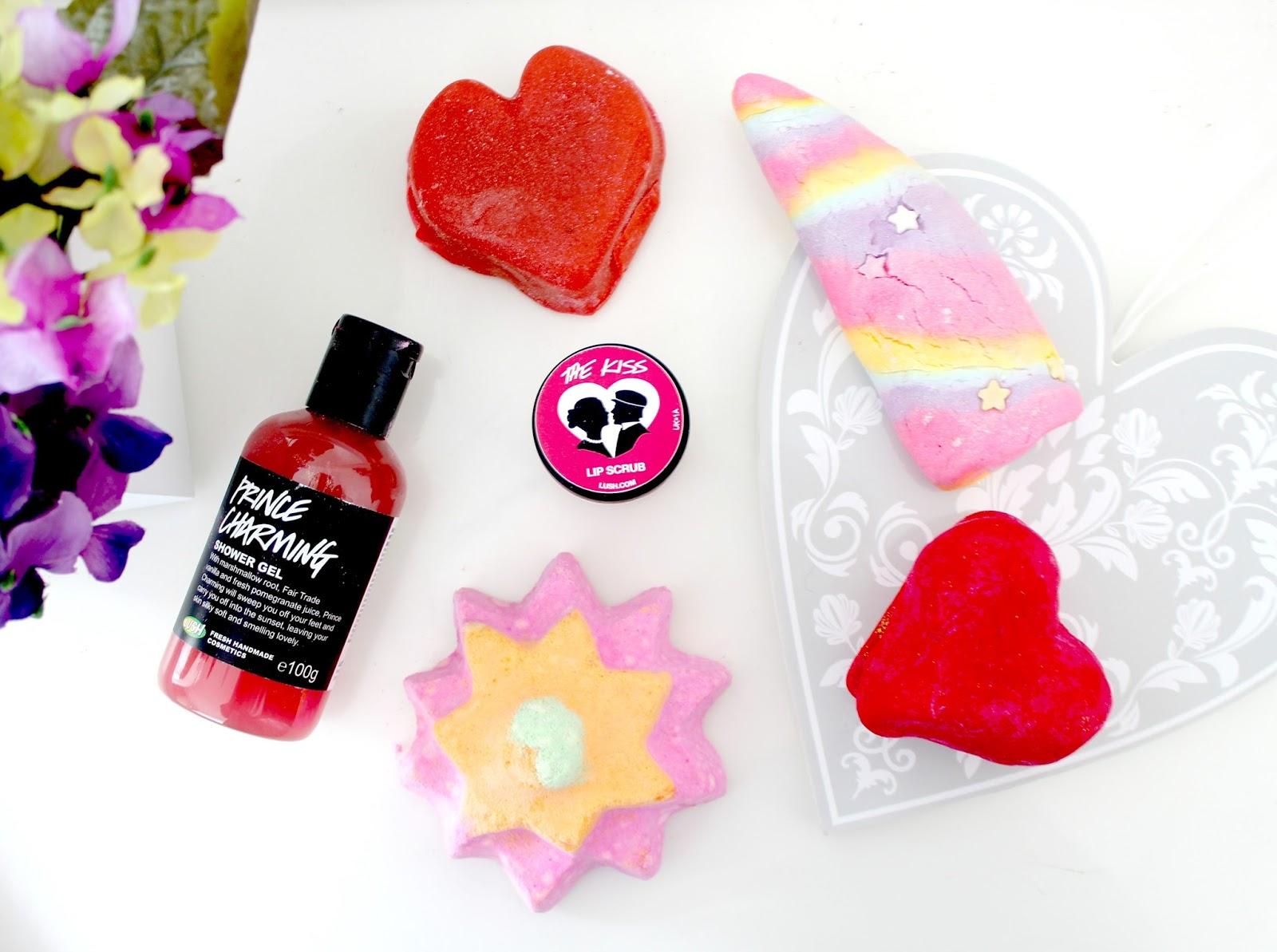 LUSH Valentines Day Collection, LUSH Bath Products, LUSH Limited Edition Valentine's Collection