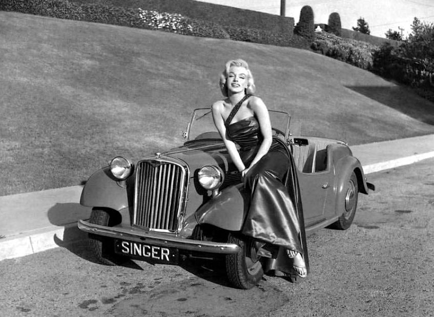 The Automobile And American Life Marilyn Monroe And The