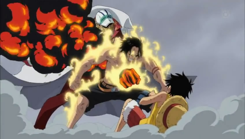 techTREE: one piece 482 : The Power That Can Burn Even Fire! Akainu's ...