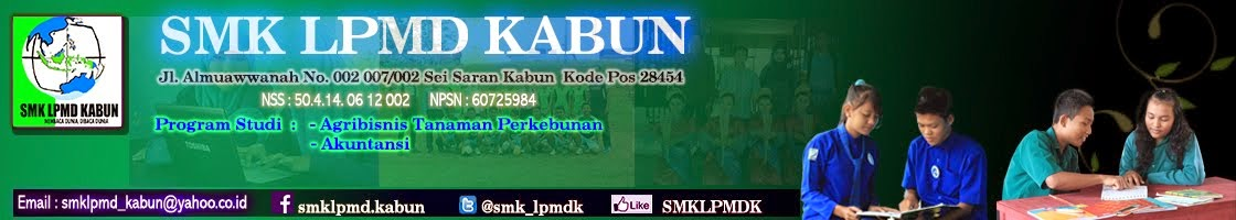SMK LPMD KABUN  I Official Website
