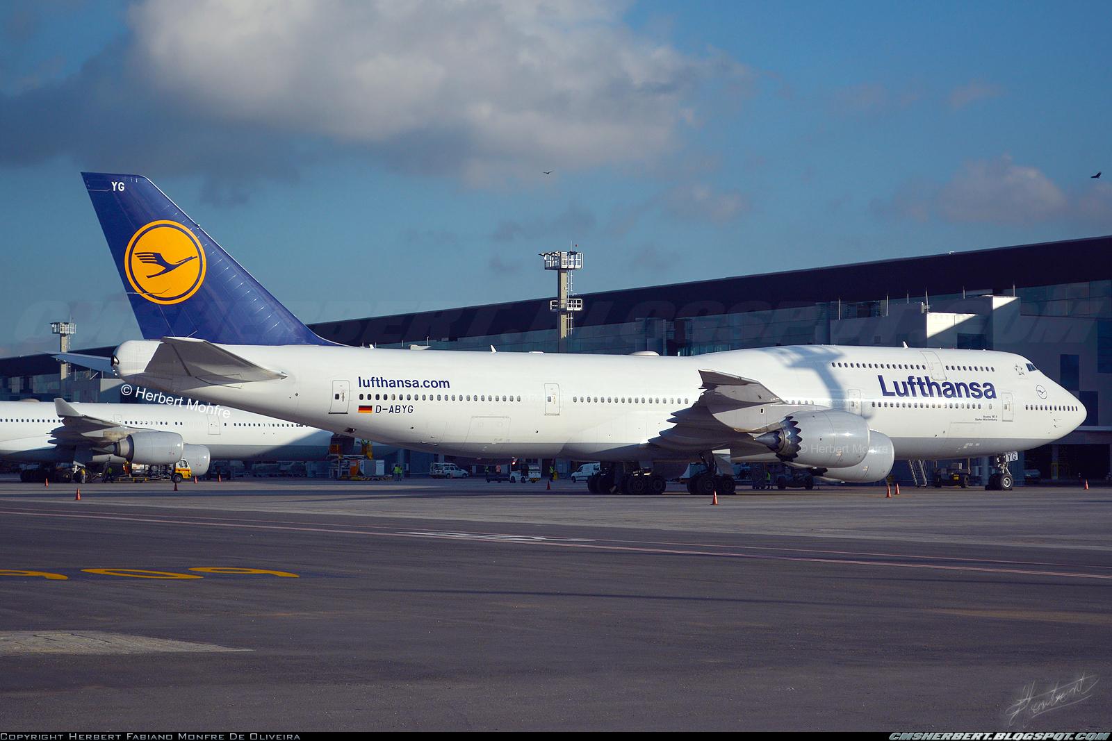 Boeing 747-8i - Lufthansa | Foto © Herbert Monfre.