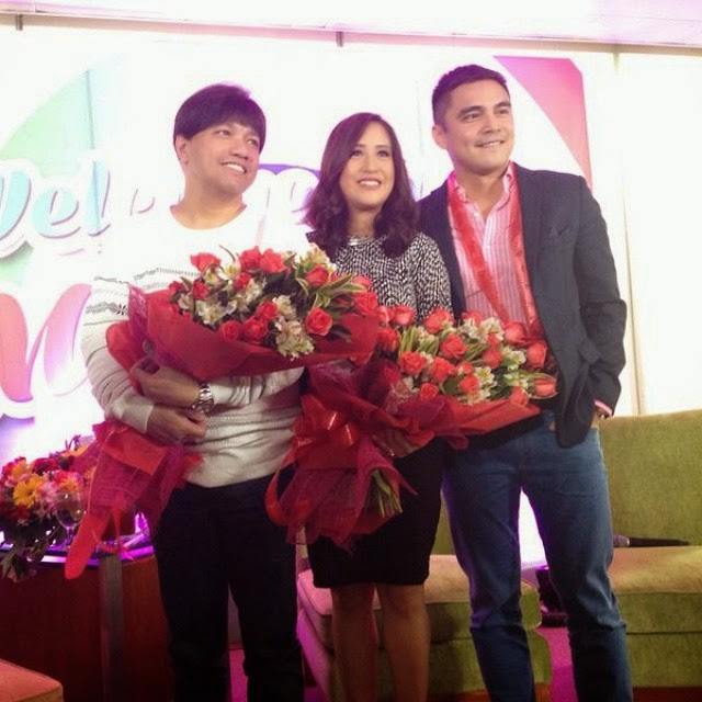 Jolina Magdangal and Marvin Agustin, officially welcomed as kapamilyas