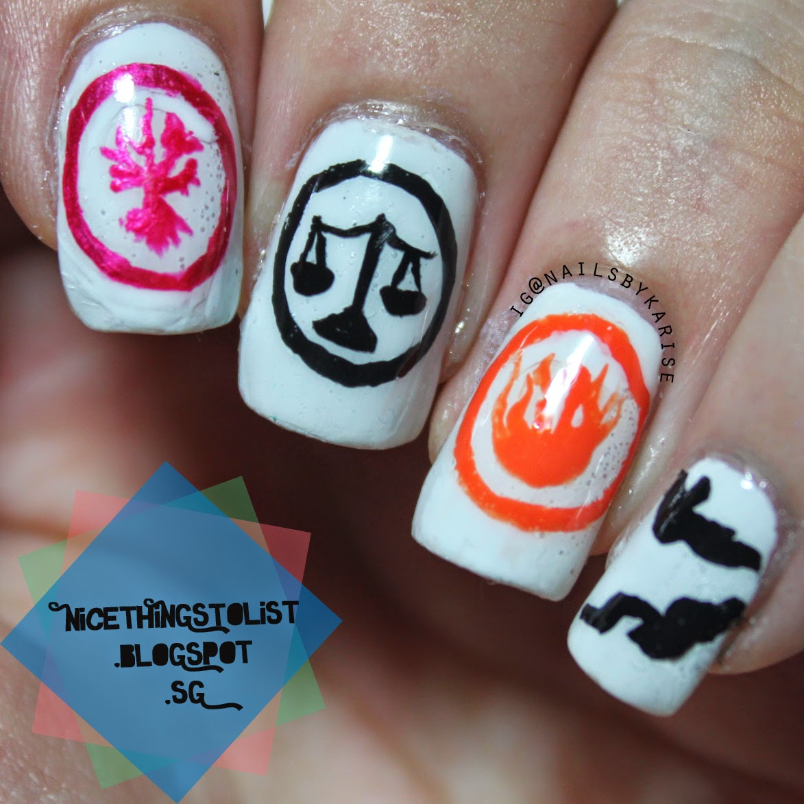Divergent inspired nail art nice things to list the bubbles seem really disturbing but from a far it is acceptable so i guess i am overall happy with this mani what do you guys think prinsesfo Image collections