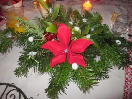La petite maison de sylvie d coration de no l une rose for Petite maison de noel decoration