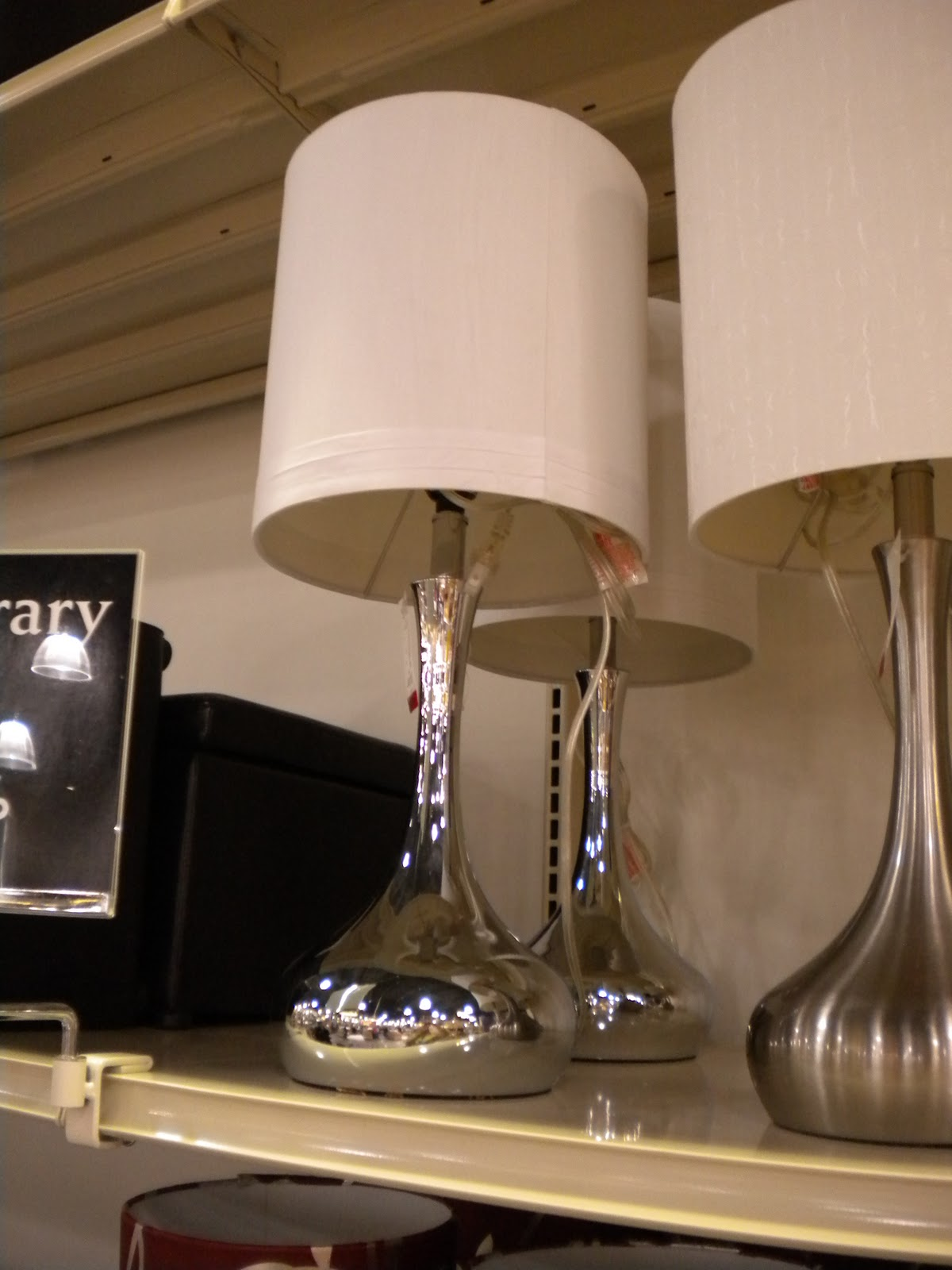 Sunshine on the inside the scoop on gordmans cute silver lamp 25 mozeypictures Image collections