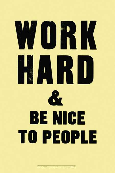 Key to Success Hard Work