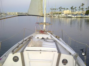 Early Morning Sail With the Make Shift Sail