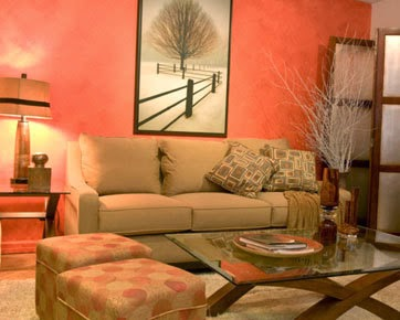 Gambar Interior Ruangan Minimalis Sempit Mungil Warna Mustard