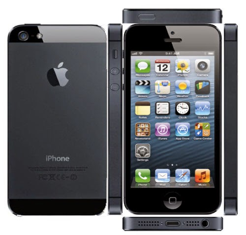 Spesifikasi Apple iPhone 5 Black
