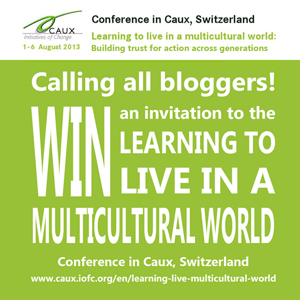 social media, connektivism, blogging competition, blogging contest, Caux, conference, Learning to Live in a Multicultural World, LLMW, social media competition, Switzerland, win, non-profit, NGO, multiculturalism