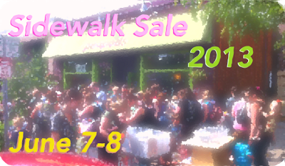 Peapods Annual Sidewalk Sale -- It's a Big Deal!
