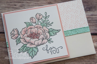 A Card for You Featuring Birthday Blooms from Stampin' Up! UK
