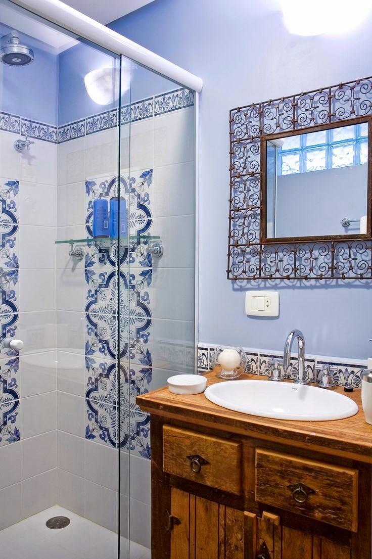 decoracao de apartamentos pequenos rustico : decoracao de apartamentos pequenos rustico:Este banheiro é de uma casa num condomínio de Campos de Jordão