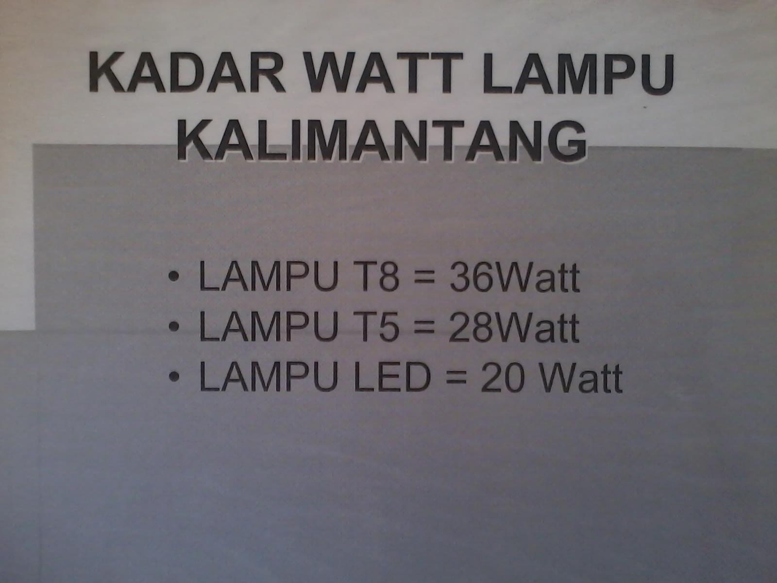Elektrik duniaku inovasi lampu kalimantang led inovasi lampu kalimantang led ccuart Gallery