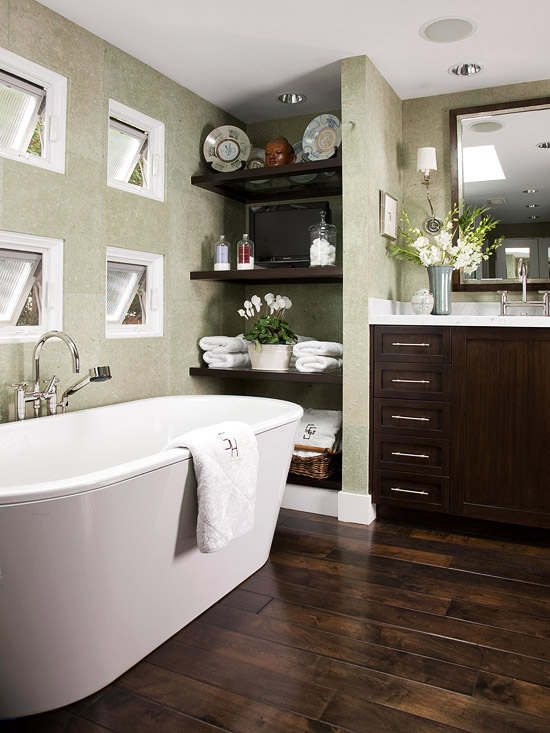 New home interior design green color schemes