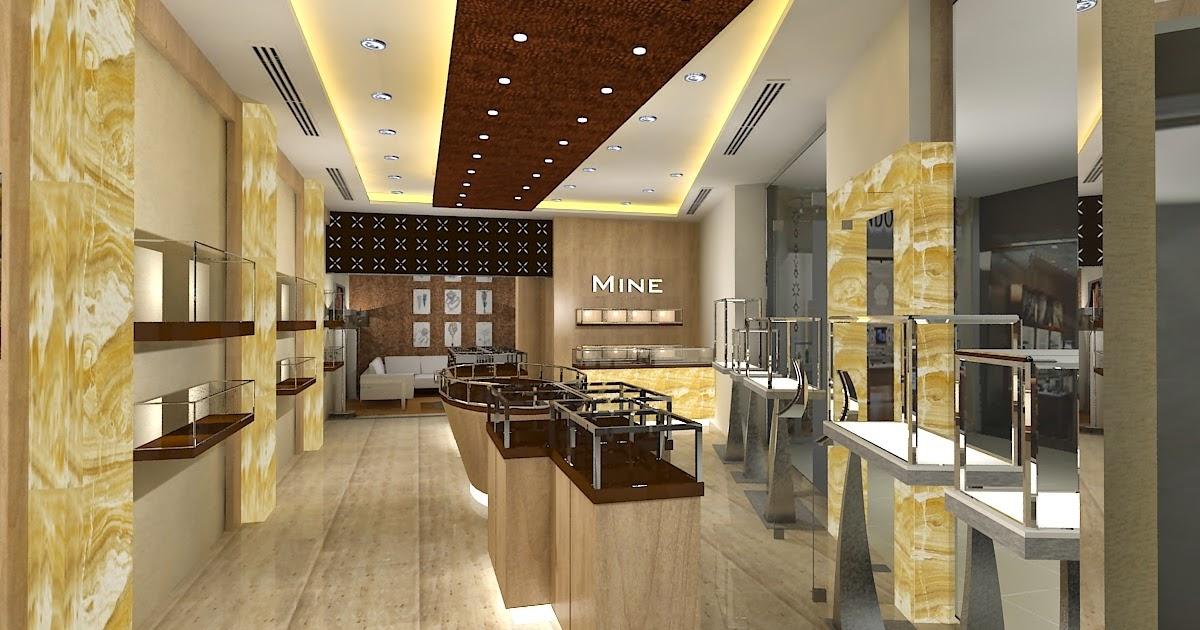 Gurooji Design Jewelry Store Design