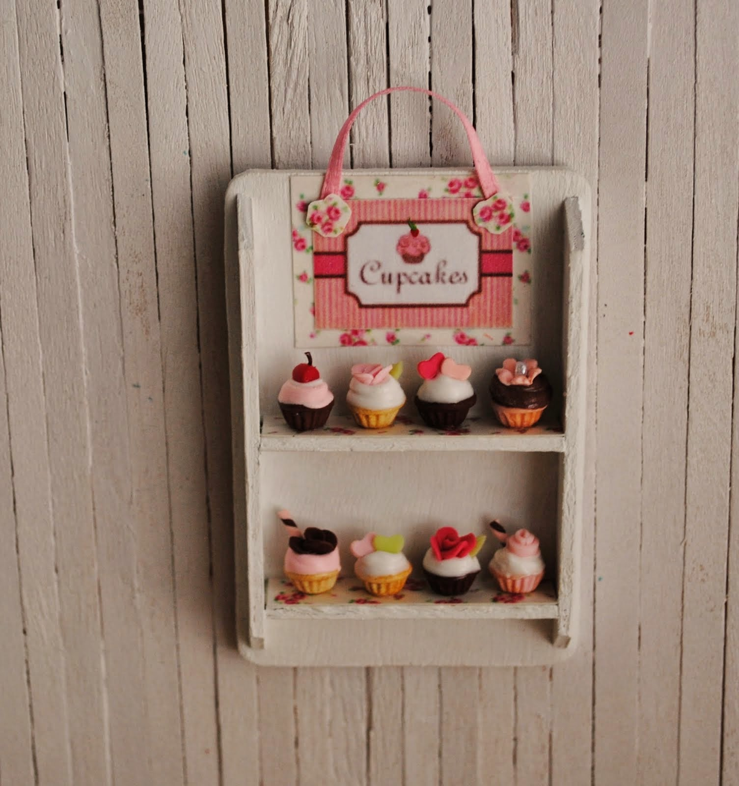 Cupcake Bakery Display