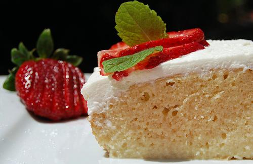 SoiKoi Blog - World Food Recipes: Three Milks Cake - Mexican Food