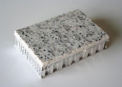 tấm nhôm tổ ong bề mặt đá