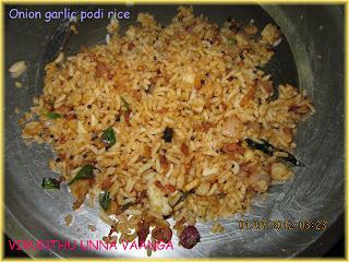 onion-garlic-podi-rice