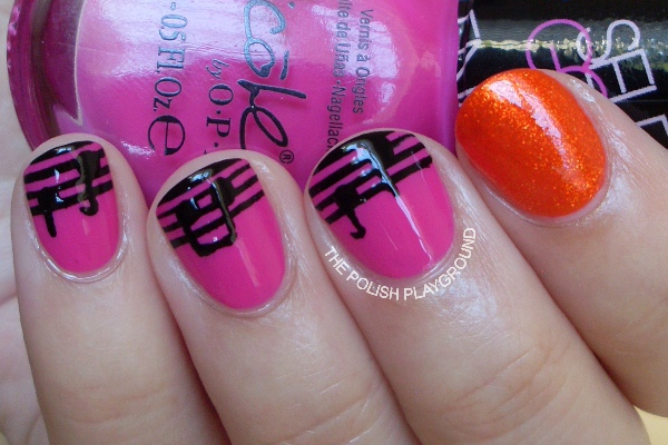 Musical Notes Nails