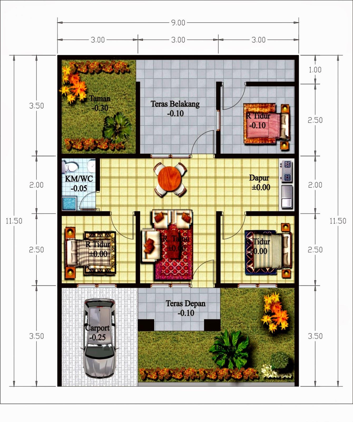 gambar desain rumah design rumah minimalis
