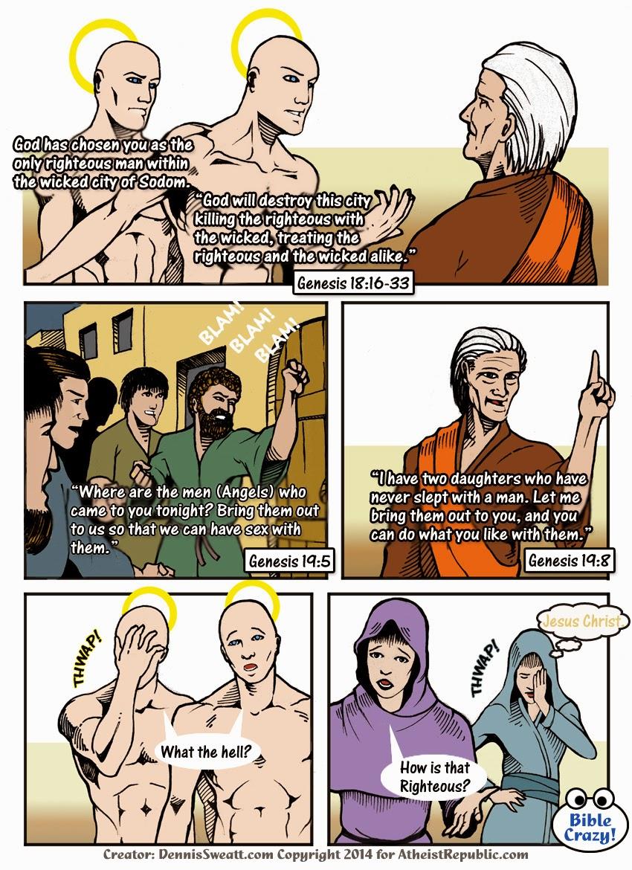 Bible Crazy Comics Lot