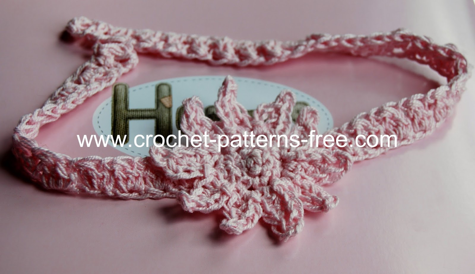 Perfect Crochet Headband For Baby Pattern Free Sketch - Easy Scarf ...